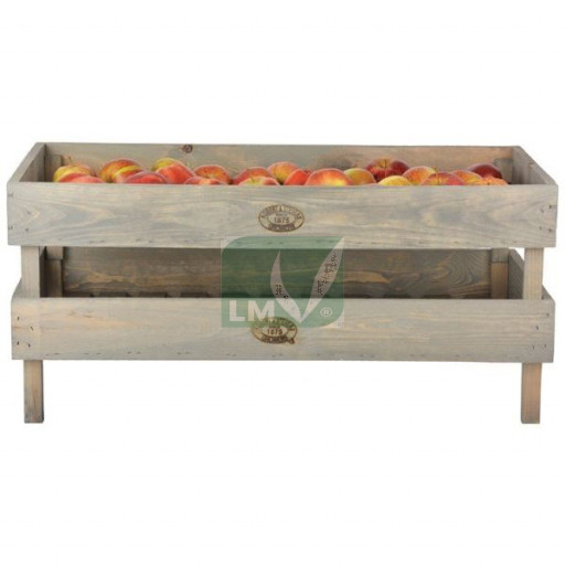 Cageots de stockage empilable à fruits et légumes GM (lot de 2)