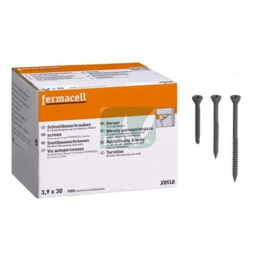 Vis Fermacell autoperceuses 3,9 x 19 mm (1000)