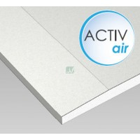 Plaque de plâtre ACTIV'AIR BA 13 1200x2600x13mm PXD PACTIVAIR de Placo