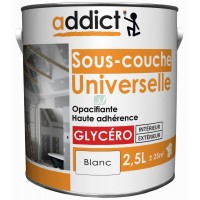 ADDICT Sous-couche universelle 2,5L blanc DELZ-ADD-51500752 de ADDICT