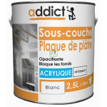 ADDICT Sous-couche acrylique 2,5L blanc DELZ-ADD-51500742 de ADDICT